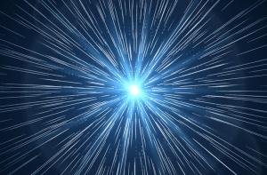 47419713 - time warp. supernova starburst ray. flare light star space burst, vector illustration